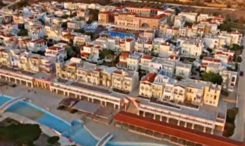 Μακέτα ή πραγματικότητα; Αυτός είναι ο οικισμός της Κρήτης με τη «σκοτεινή» ιστορία (vid)