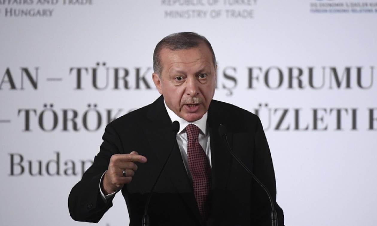 Ερντογάν: Η τουρκική δικαιοσύνη απελευθέρωσε τον πάστορα Μπράνσον