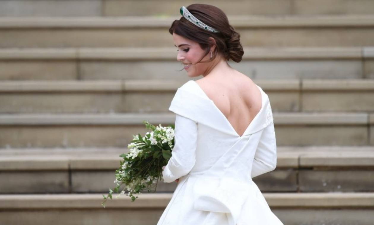 Απίστευτη γκάφα με το... στήθος της πριγκίπισσας Ευγενίας στο βασιλικό γάμο της! (pics)