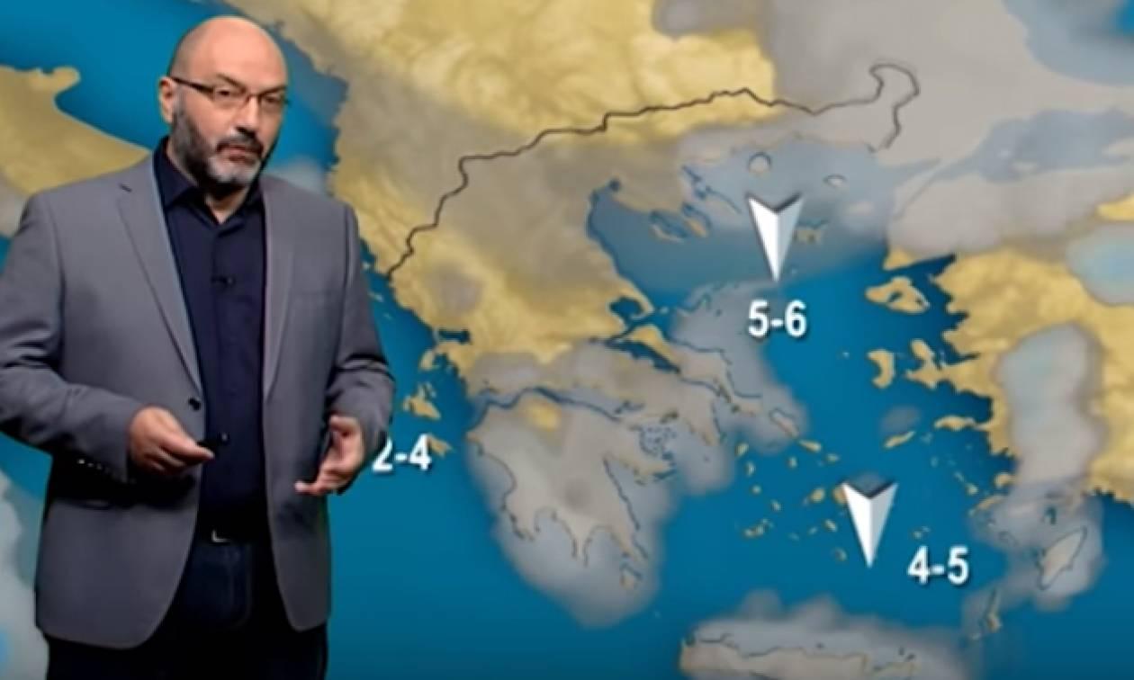 Η προειδοποίηση του Σάκη Αρναούτογλου για την κλιματική αλλαγή και ο καιρός της εβδομάδας (vid)