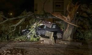 «Σφυροκοπά» την Πορτογαλία η καταιγίδα Λέσλι: Δείτε LIVE εικόνα