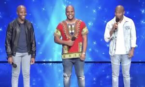 Ελλάδα έχεις ταλέντο: Άφωνοι οι πάντες με τους τρεις Νοτιοαφρικανούς (video)