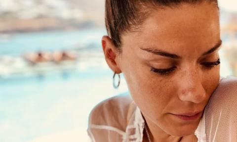 Η νέα δήλωση της Βάσως Λασκαράκη για το διαζύγιο με τον Τσιμιτσέλη