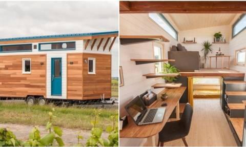 Όλα γίνονται: Έφτιαξαν σπίτι 13 τετραγωνικών μέτρων που χωρά τρία άτομα!