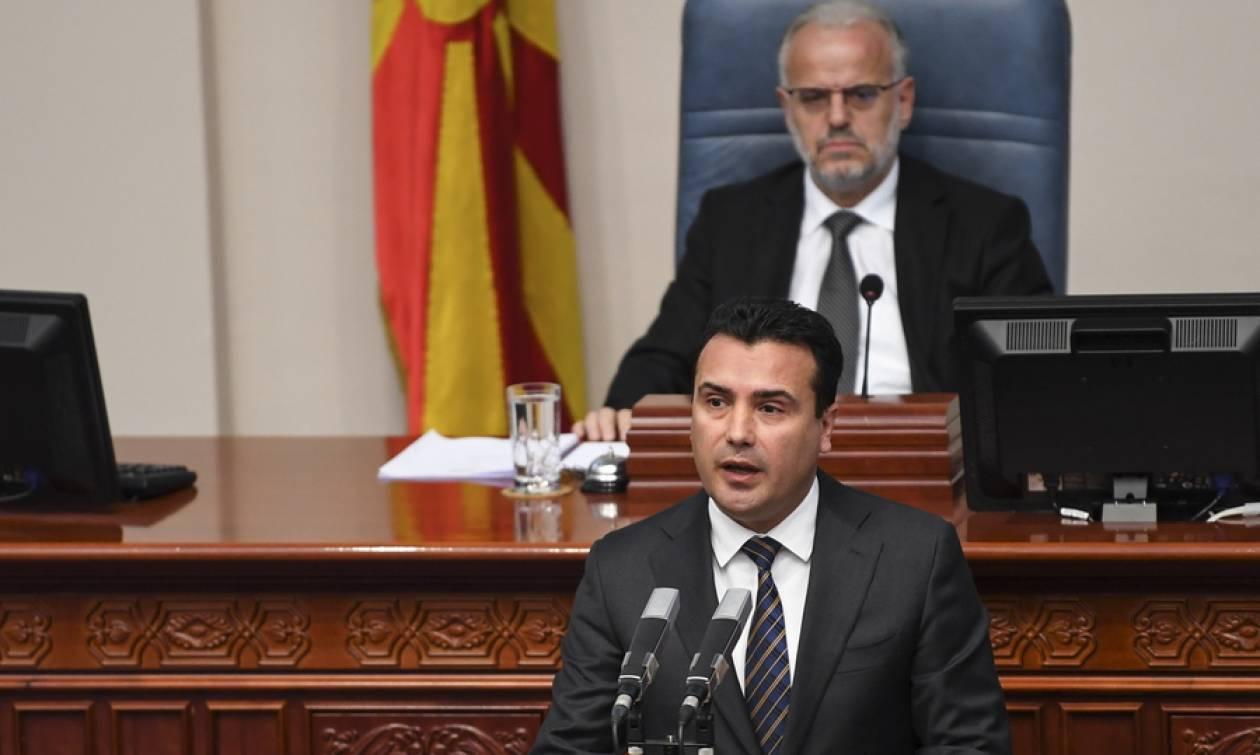 Σκόπια: Το μαγικό 7άρι του Ζάεφ - Συνεχίζεται στη Βουλή η συζήτηση για τη συνταγματική αναθεώρηση