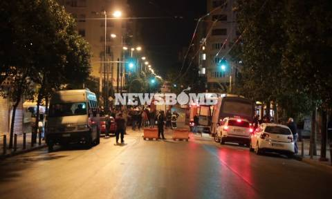 Attack against Omonia police station