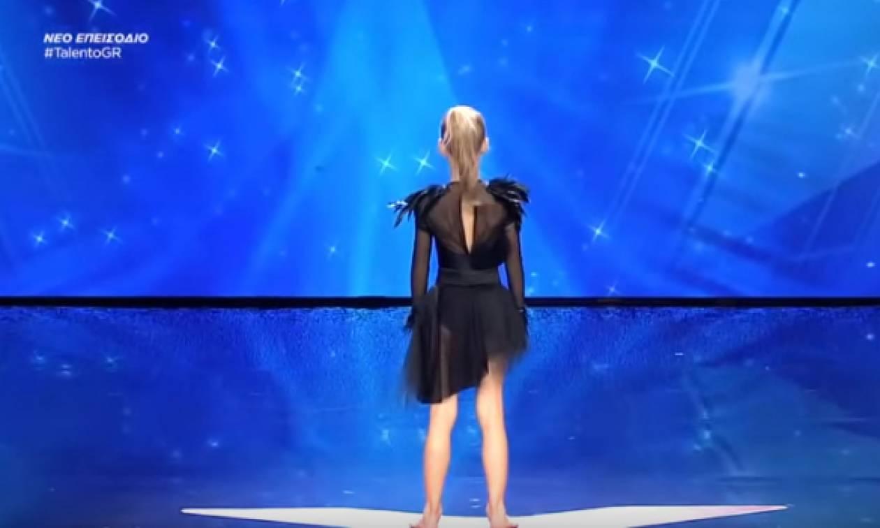 Ελλάδα Έχεις Ταλέντο: Όταν η 10χρονη βγήκε στη σκηνή κανείς δε φανταζόταν τι θα ακολουθούσε!