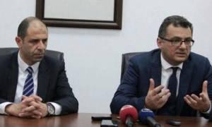 Κατεχόμενα: Σημαντική η έκθεση του ΓΓ για το Κυπριακό εκτιμούν Ερχουμάν και Οζερσάι