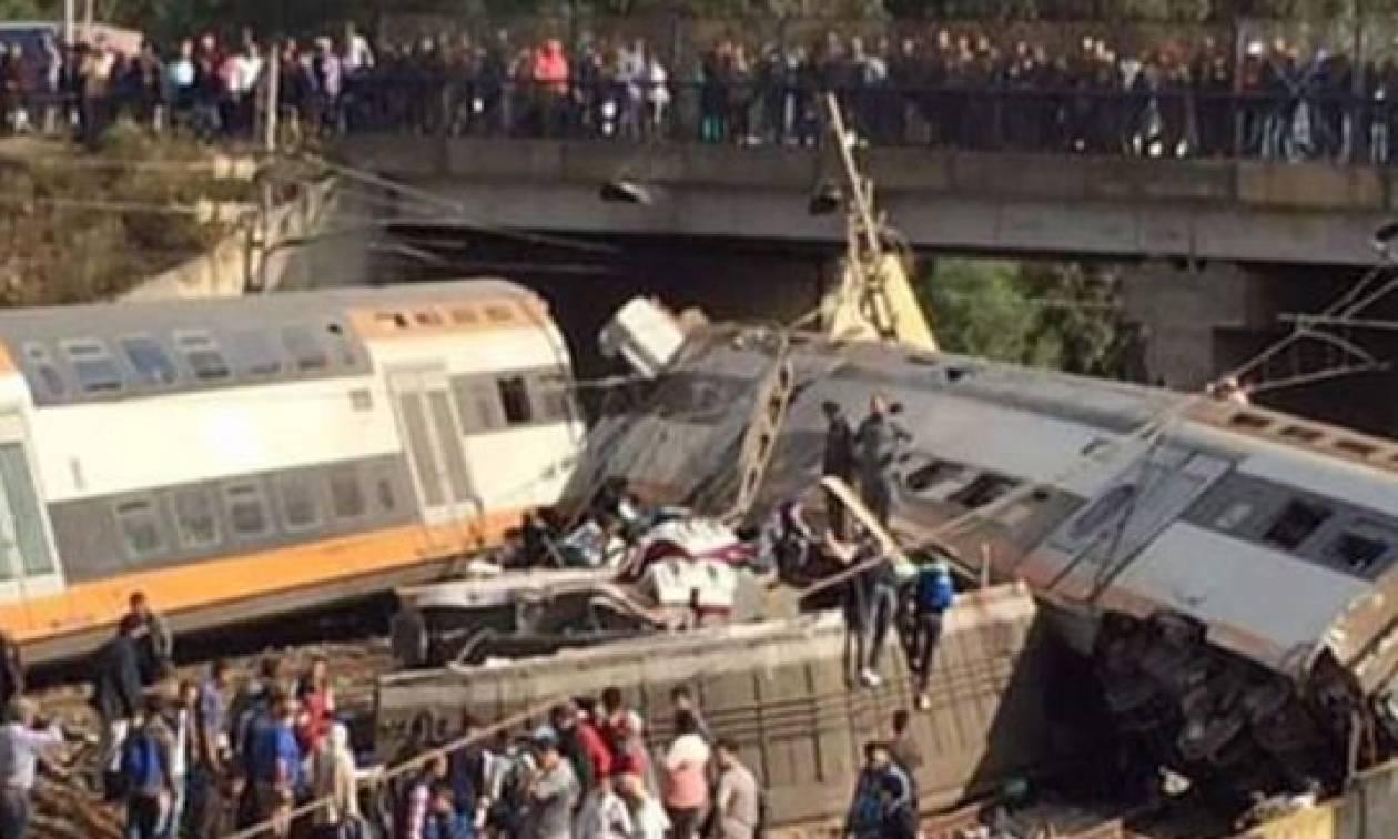 Μαρόκο: Νεκροί και τραυματίες μετά από εκτροχιασμό τρένου (pics+vid)