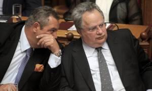 «Άγρια» κόντρα Κοτζιά – Καμμένου στο Υπουργικό Συμβούλιο για το Σκοπιανό