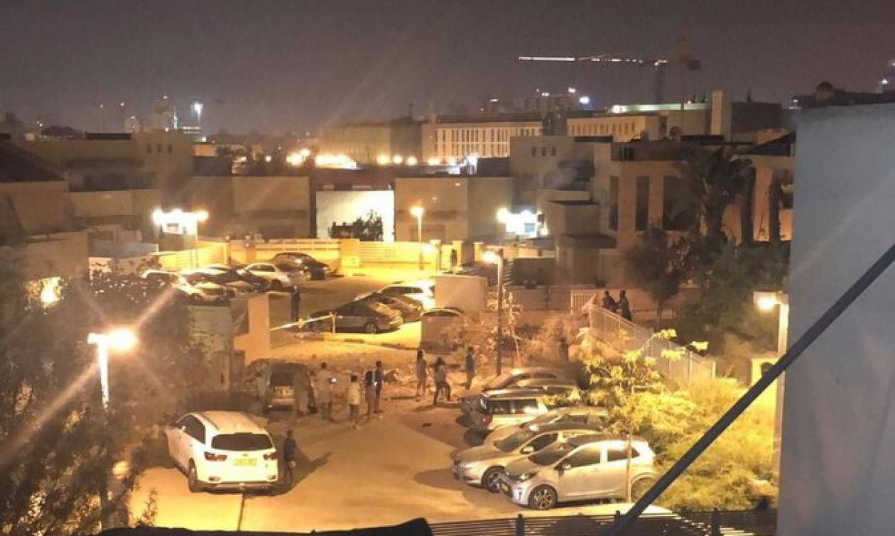 Γάζα: Ρουκέτα έπληξε την Μπερ Σεβά - Το Ισραήλ απαντά με την Πολεμική της Αεροπορία (pics)