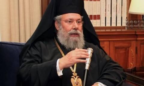 Глава кипрской православной церкви Хрисостомос II болен раком печени