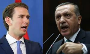 Νέο «πόλεμο» με την Αυστρία ξεκινά ο Ερντογάν: «Έξαλλος» ο Κουρτς με τη νέα σύλληψη Αυστριακού