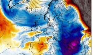 Εκτακτο: Κάθοδο σοβαρής ψυχρής εισβολής στην Ελλάδα δείχνουν τα καιρικά προγνωστικά μοντέλα (photos)