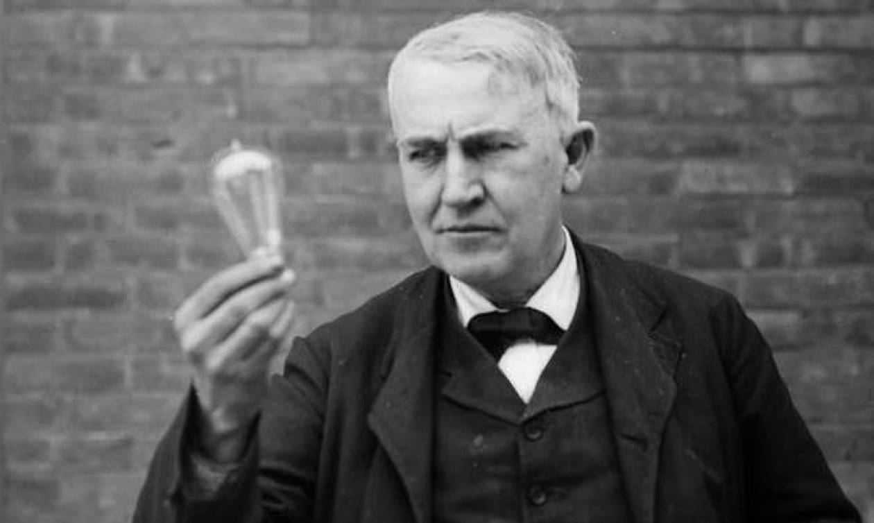 Σαν σήμερα το 1931 πέθανε ο εφευρέτης με τις 1093 ευρεσιτεχνίες Τόμας Έντισον