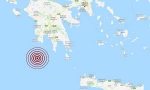 Σεισμός ΤΩΡΑ νότια της Πύλου (pics)