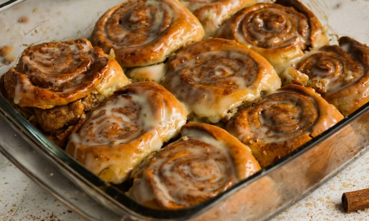 Η συνταγή της ημέρας: Cinnamon rolls