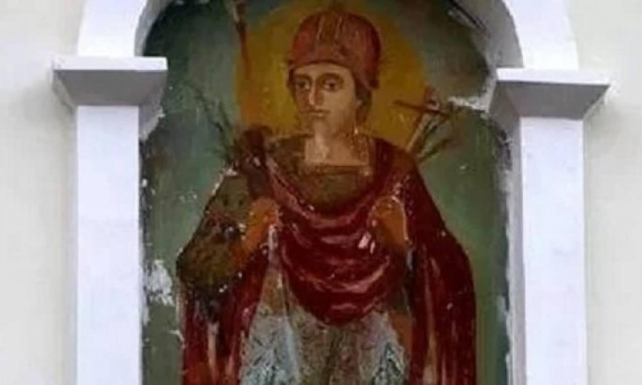 Μολδαβία: Τοιχογραφία σε μοναστήρι αλλάζει συνεχώς με θαυμαστό τρόπο