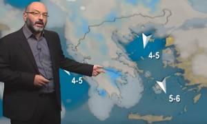 Καιρός: Τάση για ψυχρή εισβολή στην Ελλάδα του Αγίου Δημητρίου! Τι λέει ο Σάκης Αρναούτογλου (video)