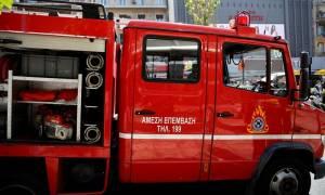 ΕΚΤΑΚΤΟ: Φωτιά ΤΩΡΑ σε αποθήκη σούπερ μάρκετ στην Αγία Παρασκευή