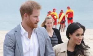 Harry και Meghan στην παραλία της Μελβούρνης