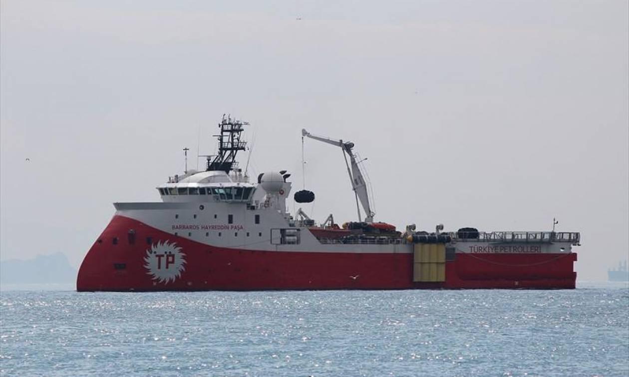 Συναγερμός στην ανατολική Μεσόγειο: Η φρεγάτα «Νικηφόρος» μια ανάσα από το τουρκικό «Barbaros»