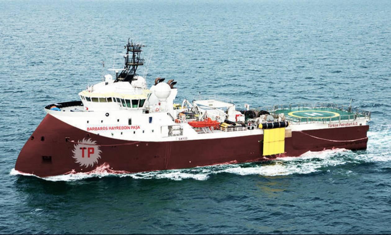 Τουρκική «μονταζιέρα»: Δήθεν επεισόδιο ανάμεσα σε ελληνική φρεγάτα και το τουρκικό σκάφος «Barbaros»