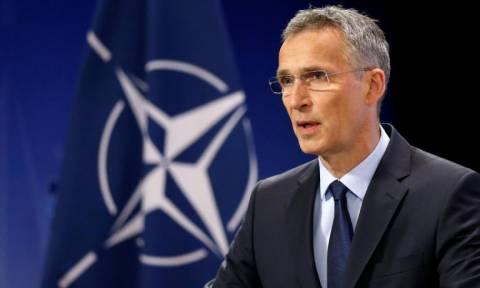 Στόλτενμπεργκ: Ιστορική ευκαιρία των Σκοπίων για ένταξη στο ΝΑΤΟ