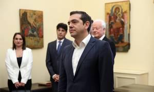 Τσίπρας στο Προεδρικό: «Το όνειρό μου έγινε πραγματικότητα – Πήρα υπουργείο»