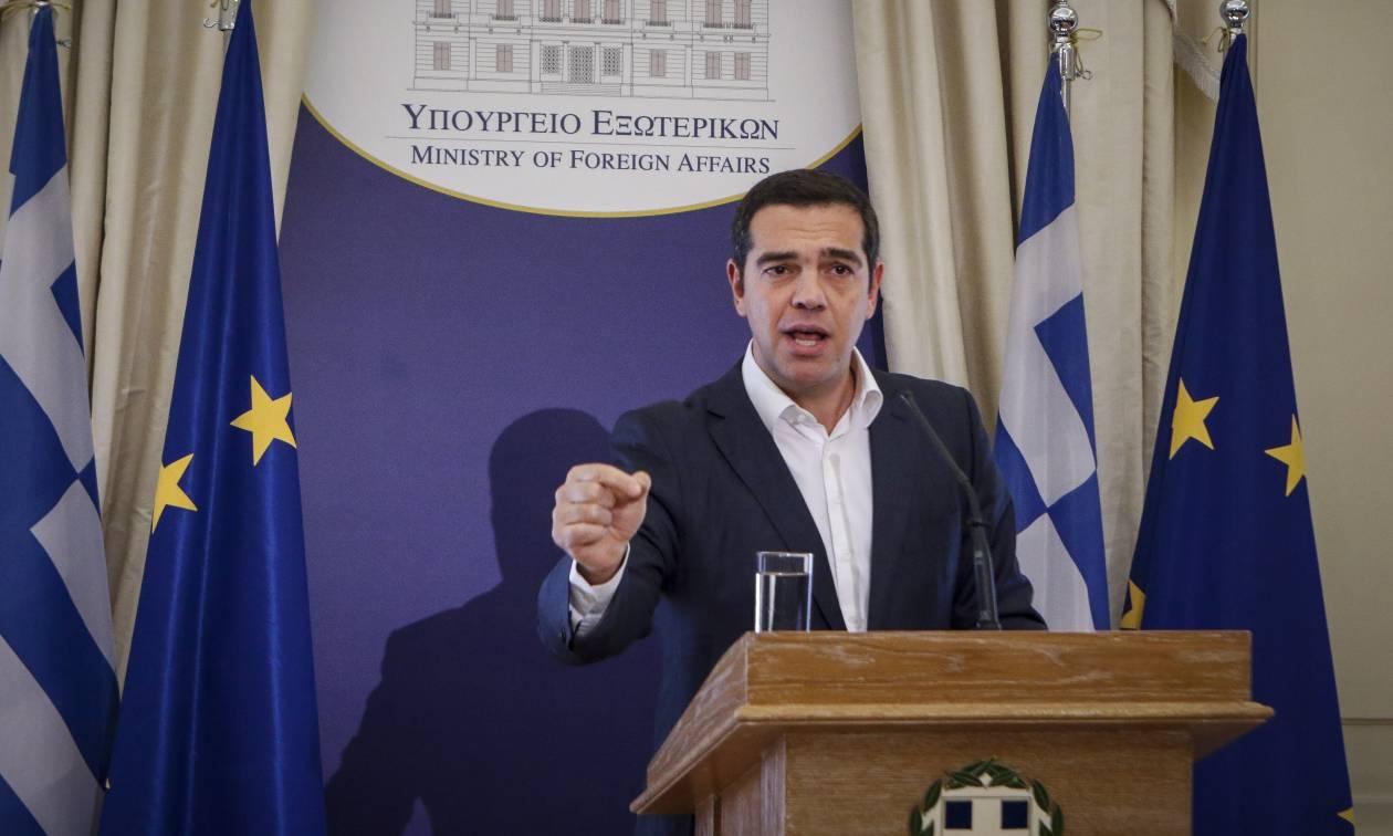 Τσίπρας: Η Ε.Ε. ενέκρινε τον ελληνικό προϋπολογισμό χωρίς περικοπές στις συντάξεις