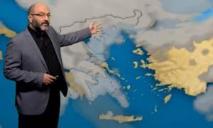 Πώς αλλάζει ο καιρός από την Κυριακή! Πού θα σημειωθούν καταιγίδες και χιονοπτώσεις; (Video)
