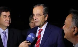 Σαμαράς: Εμείς γιορτάζουμε, άλλοι βυθίζονται στις Πρέσπες
