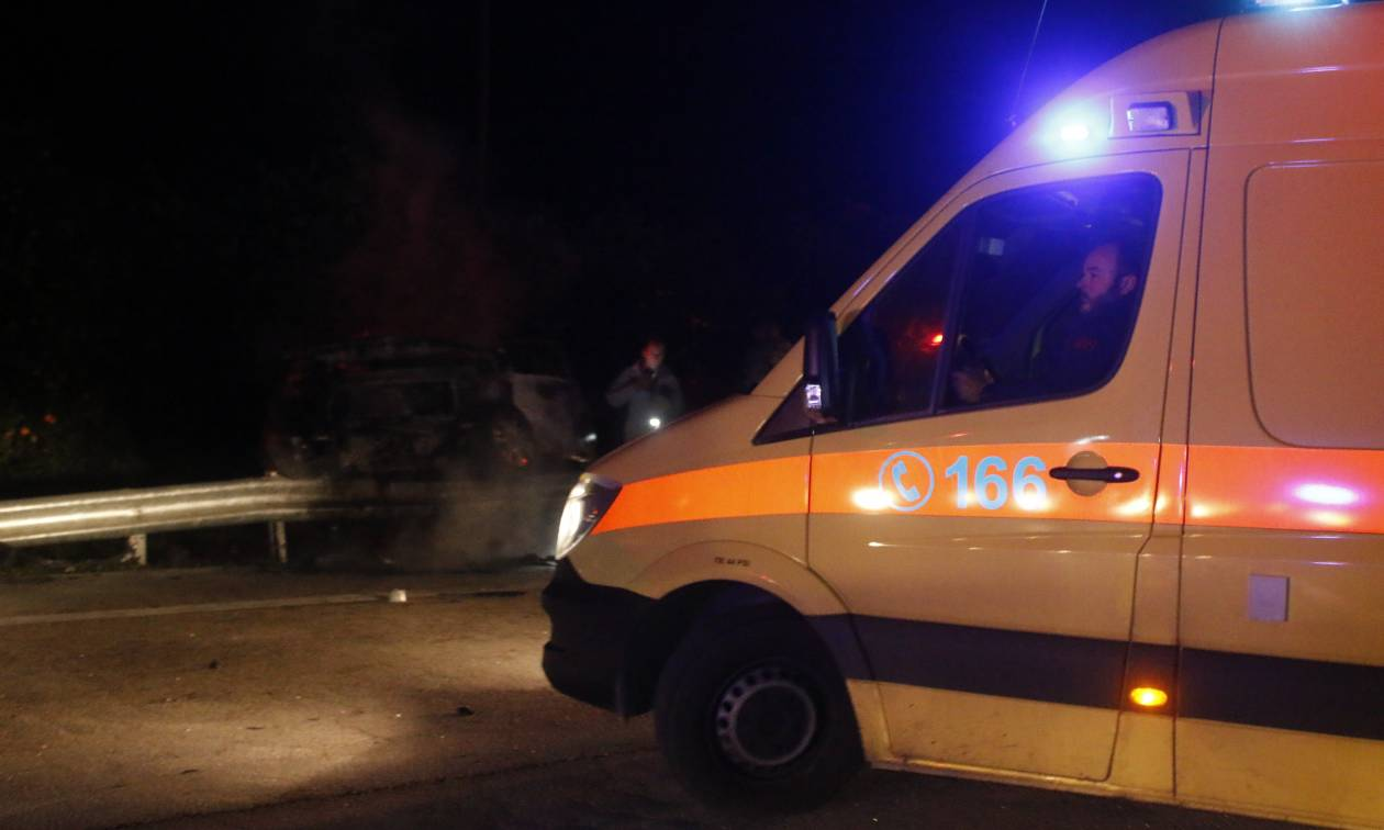 Τραγωδία στο Ηράκλειο: Αυτοκίνητο παρέσυρε νεαρό στο Τυμπάκι