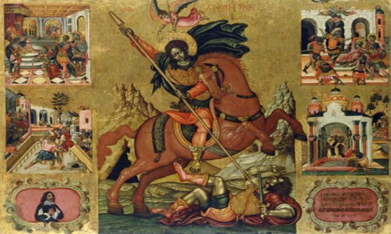 Άγιος Δημήτριος: Ποιον σκοτώνει στη γνωστή εικόνα του;