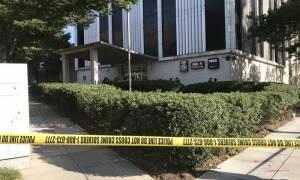 ΗΠΑ: Ήθελε να μιλήσει με τον Τραμπ και τον πυροβόλησαν έξω από κτήριο του καναλιού Fox (pics)