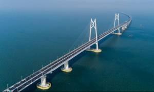 Δείτε την μεγαλύτερη γέφυρα στον κόσμο με μήκος 55 χλμ!