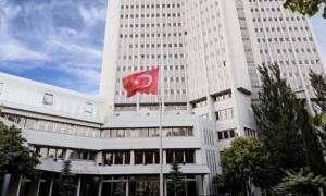 Υπουργείο Εξωτερικών Τουρκίας: Υπενθυμίσαμε στον Έλληνα πρέσβη το casus belli