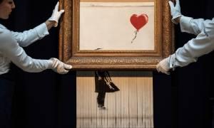 Φοβούνται νέες σκηνές – σοκ σε δημοπρασία έργων του Banksy - Θα «χτυπήσει» ξανά αύριο; (Pics+Vid)