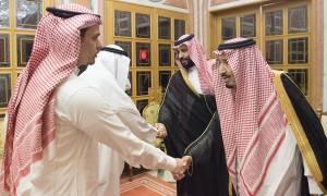 «Στάχτη στα μάτια;»: Ο βασιλιάς της Σαουδικής Αραβίας συναντήθηκε με το γιο του Κασόγκι