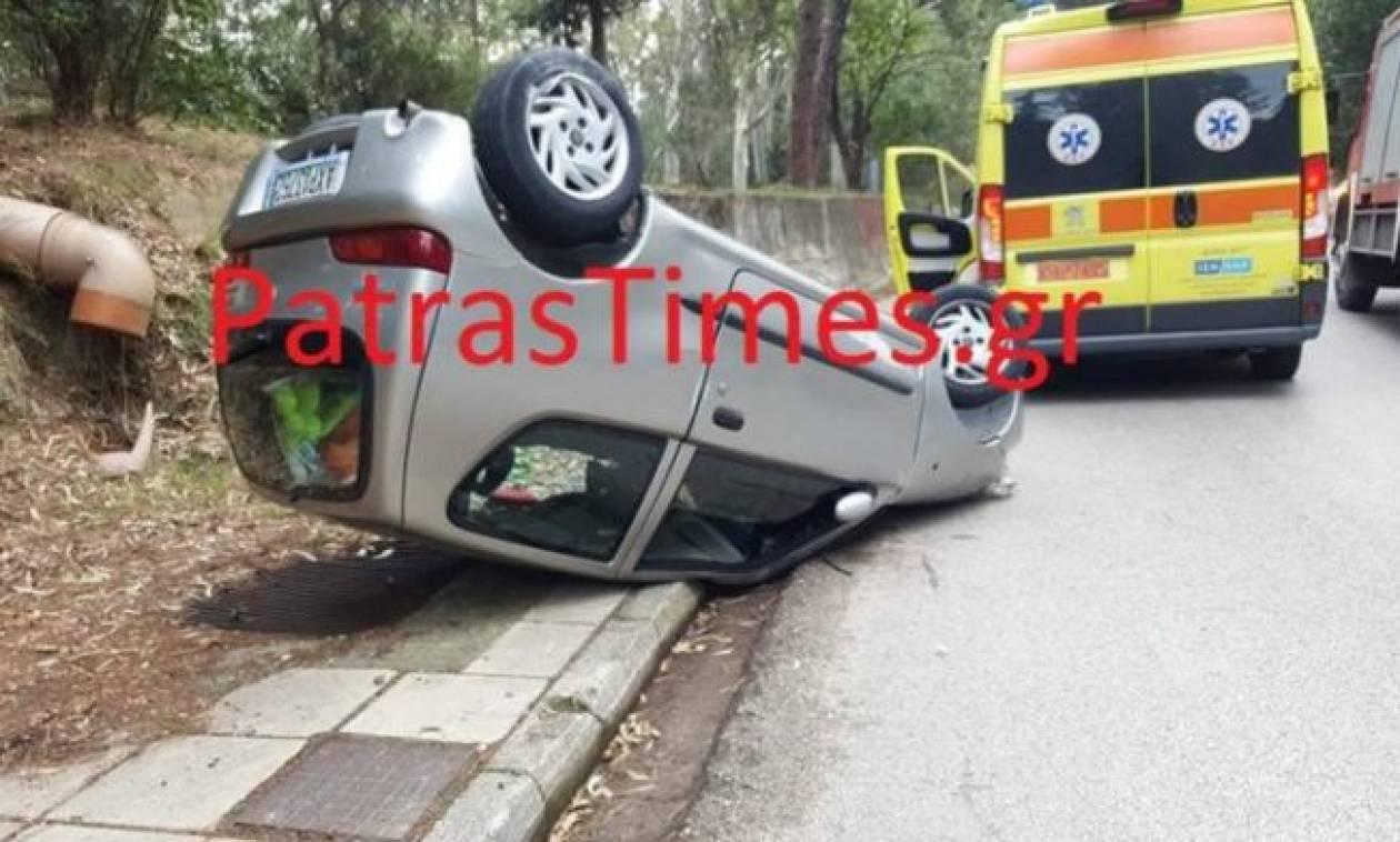 Πάτρα: Βγήκε ζωντανός από αυτό το αυτοκίνητο και… έτρεξε να δει την ΑΕΚ! (vid)
