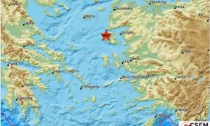 Σεισμός 4 Ρίχτερ στη Μυτιλήνη