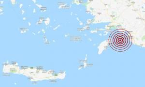 Σεισμός ΤΩΡΑ κοντά στη Ρόδο (pics)