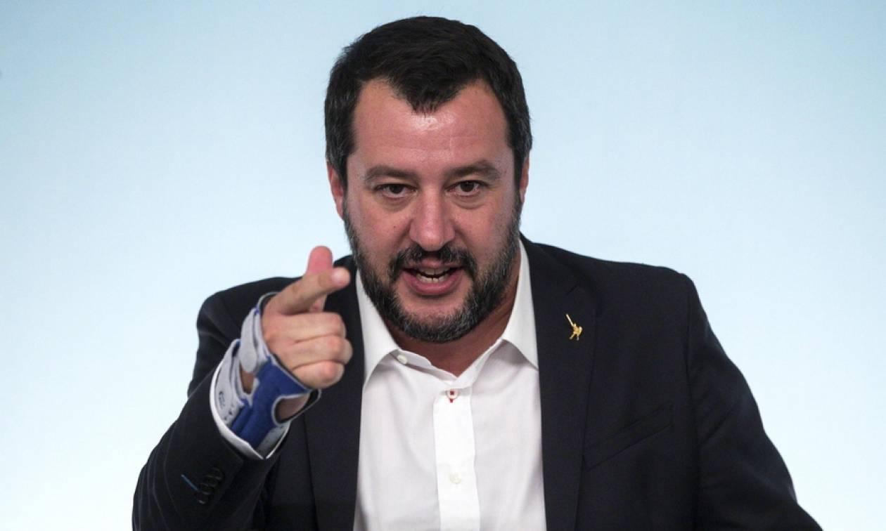 Ανυποχώρητος ο Σαλβίνι: Δεν αλλάζουμε προϋπολογισμό - Προτεραιότητά μας οι Ιταλοί