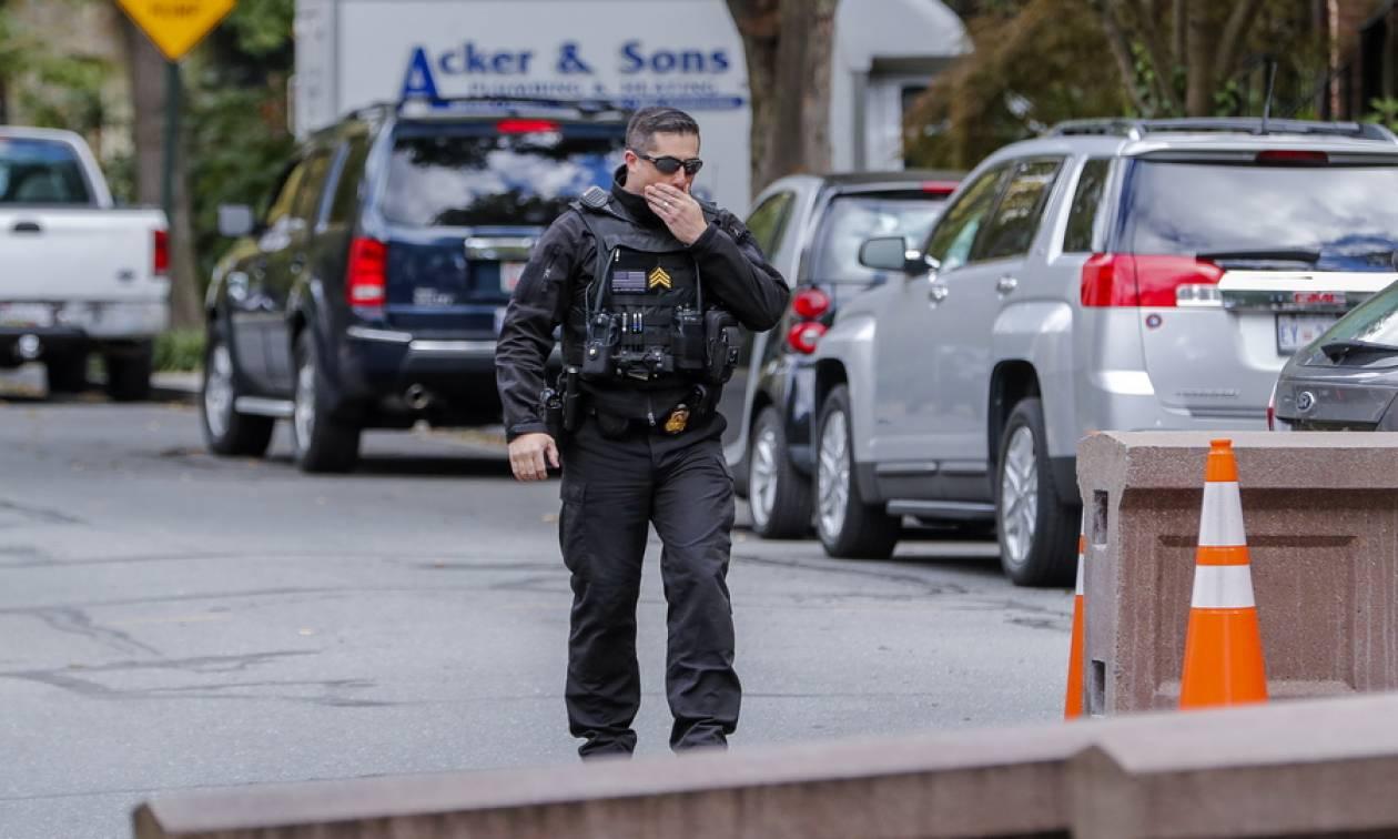 Κύμα τρομο-πακέτων «σαρώνει» τις ΗΠΑ: «Βόμβα» σε κτήριο του Κογκρέσου στο Μέριλαντ