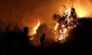 Φωτιά στο Φίλυρο Θεσσαλονίκης: Εκκενώθηκαν κατοικίες (χάρτης)