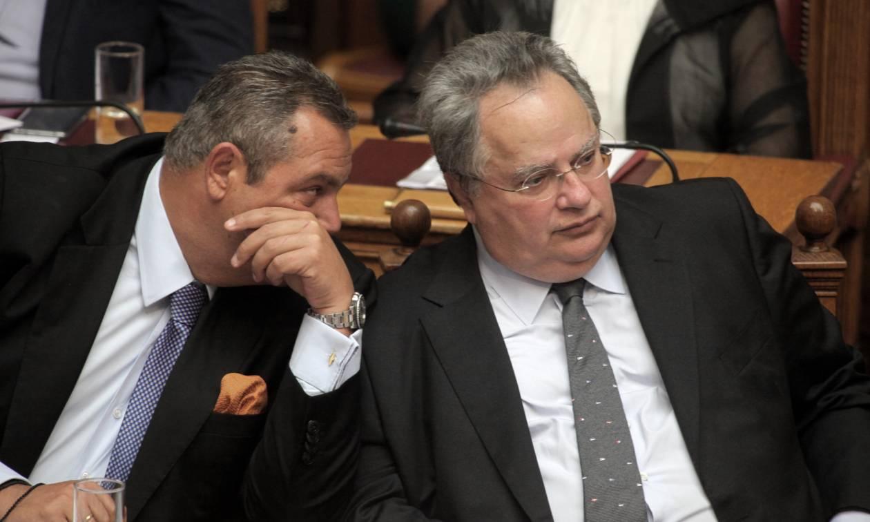 Οργή Καμμένου μέσω Twitter: Δεν είπα ποτέ στο Υπουργικό για 50 εκατ. ευρώ και Σόρος