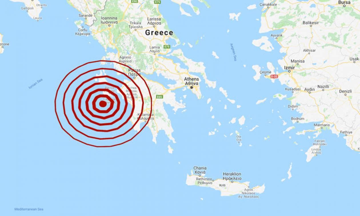 Σεισμός ΤΩΡΑ στη Ζάκυνθο - Αισθητός μέχρι την Αθήνα (pics)