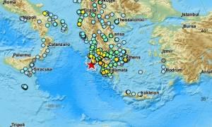 Σεισμός στη Ζάκυνθο: Δημιουργήθηκε τσουνάμι 20 εκατοστών