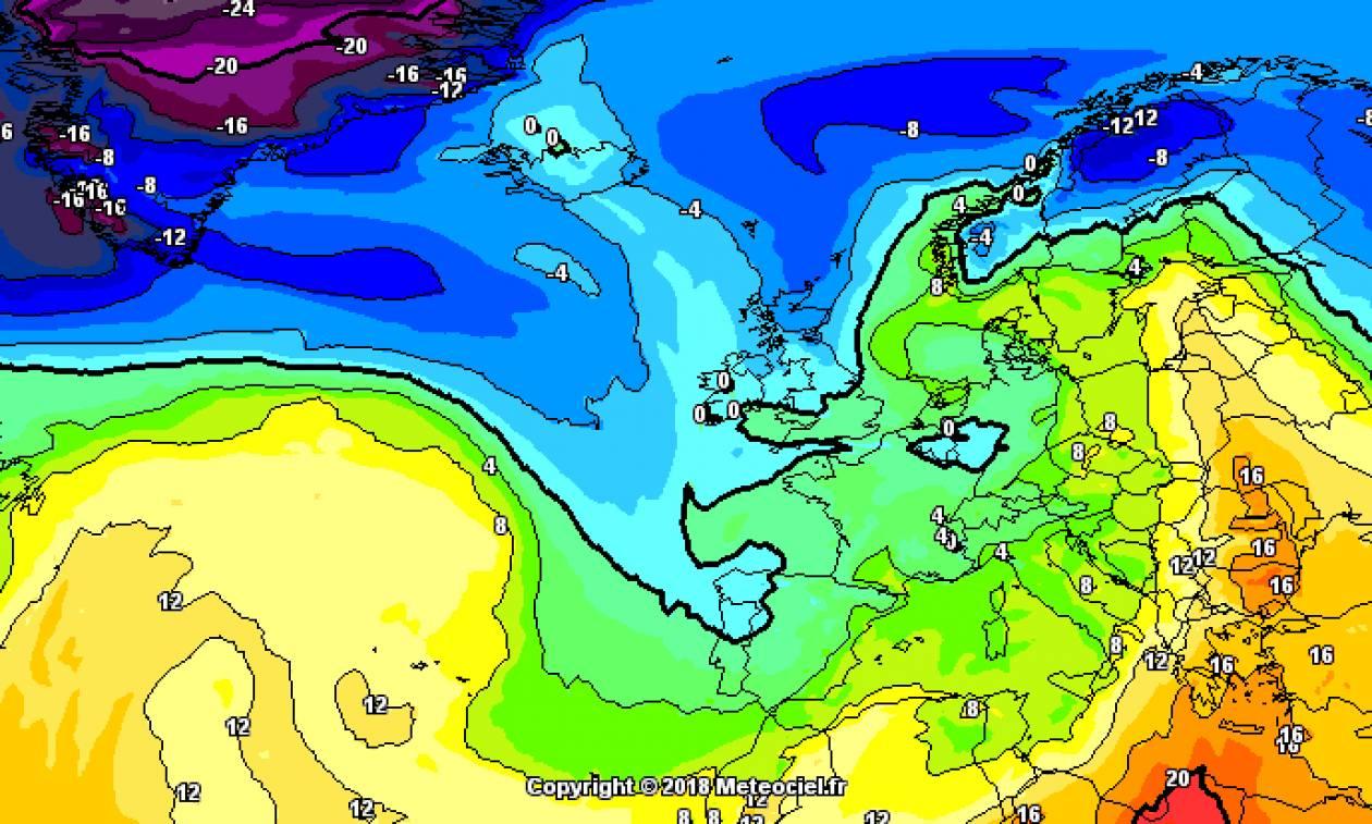 Καιρός: Ολοταχώς για... θερμή εισβολή και ποδαρικό του Νοέμβρη με ζέστη (χάρτες)