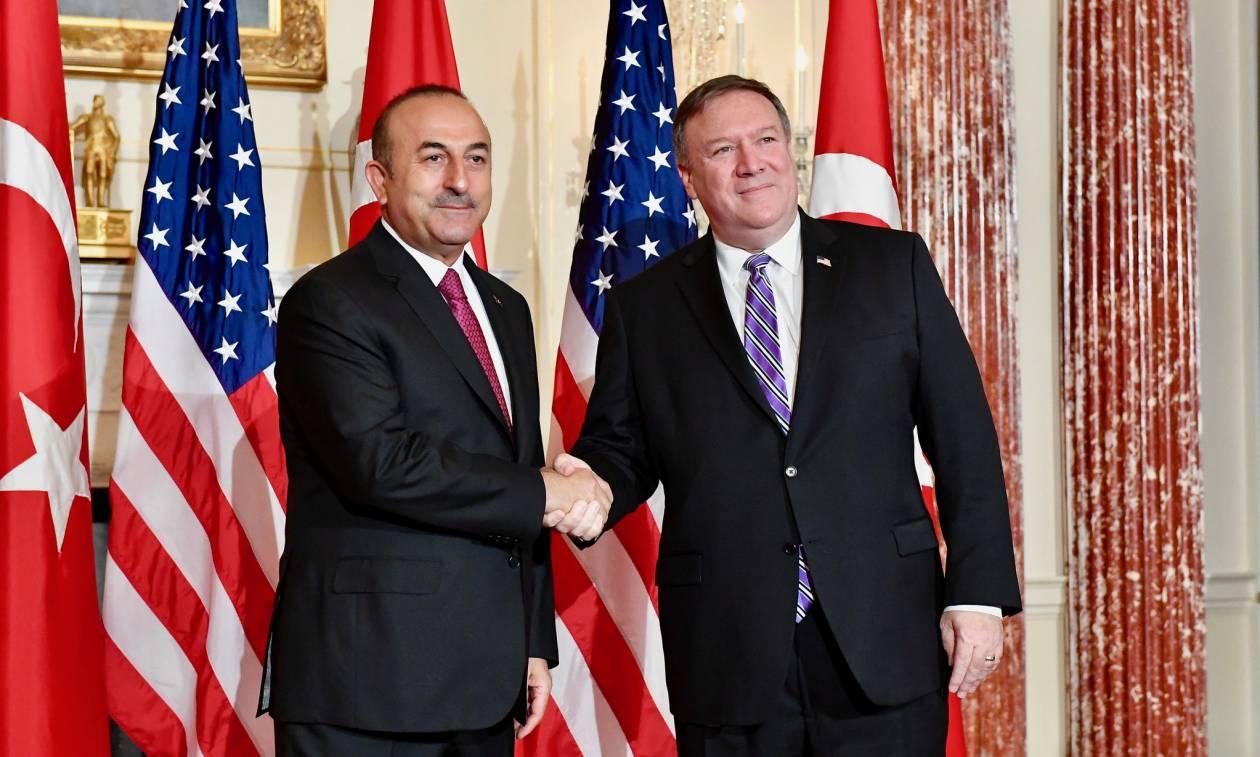 Τουρκία – ΗΠΑ: Έκτακτη τηλεφωνική επικοινωνία Τσαβούσογλου – Πομπέο